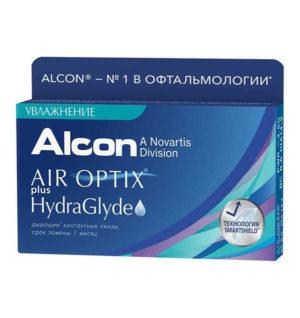 AIR OPTIX® PLUS HYDRAGLYDE (6 линз)