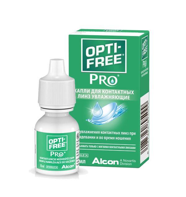 Капли Opti-Free Pro 10 мл